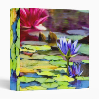 Lily Pads Painting Binder