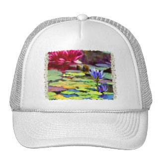 Lily Pads Painting Hats