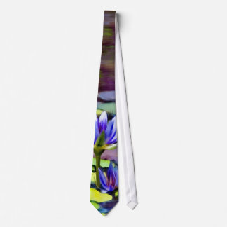 Lily Pads Painting Neck Tie