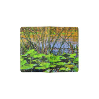 Lily Pads Pocket Moleskine Notebook Cover With Notebook