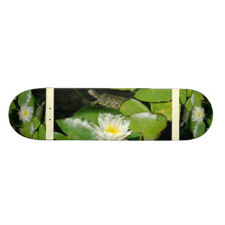 Lily Pads Turtle Skateboard