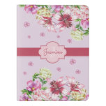 Lily & Peony Floral Purple Extra Large Moleskine Notebook
