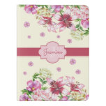Lily & Peony Floral Yellow Extra Large Moleskine Notebook