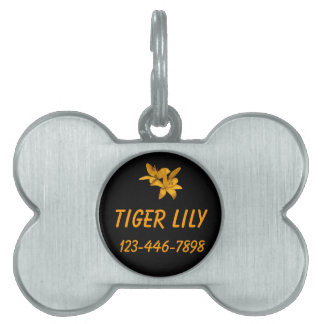 Lily Pet Tag
