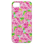 Lily Pink Flowers iPhone 5 Covers