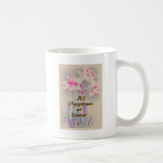 Lily Pink Purple Easter Coffee Mug