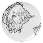 Lily - plate