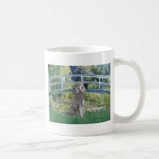 Lily Pond Bridge-Silver St. Poodle Coffee Mug