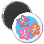 Lily Pond Fridge Magnet