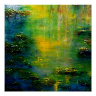Lily Pond Monet Impressionism Art Poster