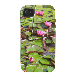 Lily pond times four iPhone 4/4S cover