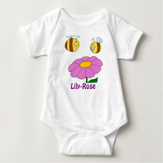 Lily-Rose Named baby girl gifts - personalized Tee Shirt