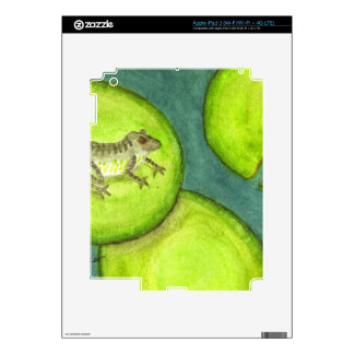 Lily s Pad Decals For iPad 3
