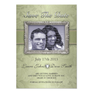 LILY-Save Te Date Invitation - Customized