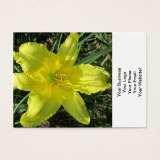 Lily Shady Lemon Yellow Business Card