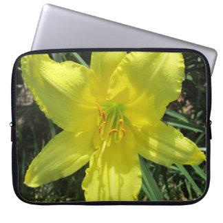Lily Shady Lemon Yellow Laptop Sleeve