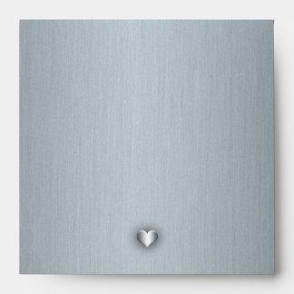 Lily-Silver Envelope