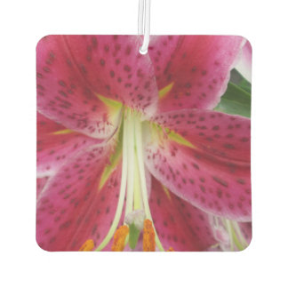 Lily Stargazer Purple Flower Air Freshener