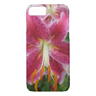 Lily Stargazer Purple Flower iPhone 8/7 Case