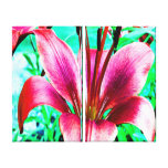Lily Stretched Canvas Print