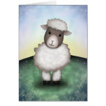 Lily the Lamb - Greeting Card