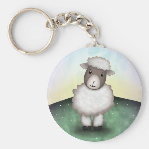 Lily the Lamb - Key Chain
