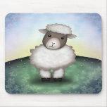 Lily the Lamb - Mousepad