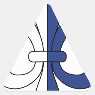 Lily Triangle Sticker