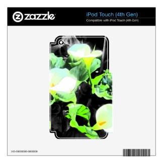 Lily Trio iPod Touch 4G Skin