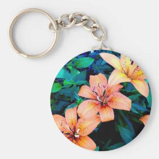 Lily trio key chain