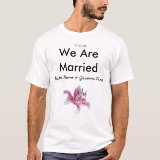 Lily Wedding Souvenirs Keepsakes Giveaways T-Shirt