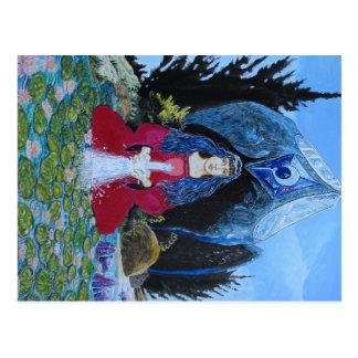 Lily (west coast shaman) postcard