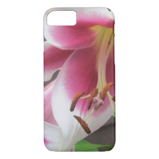 Lily White Purple House Plant iPhone 8/7 Case