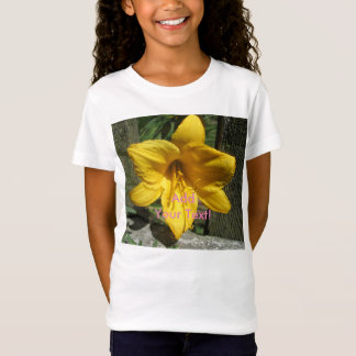 Lily Yellow Weathered Fence T-Shirt