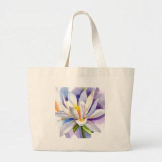 lilycloseup1 large tote bag