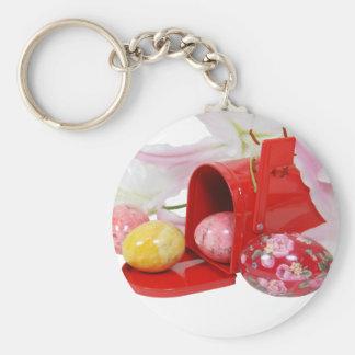 LilyEggsMailbox051409 Keychain