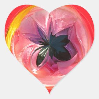 lilyfaux.jpg pegatina de corazón