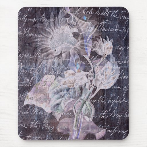 Lilyflower Abstract Mouse Pad
