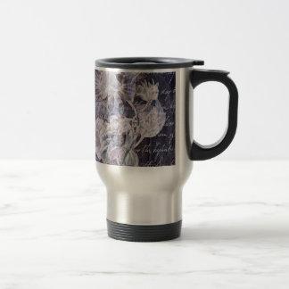 Lilyflower Abstract Travel Mug