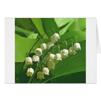 lilyofthevalley card