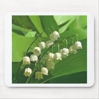 lilyofthevalley mouse pad