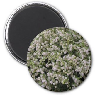 LilyOfTheValley Round Refrigerator Magnets