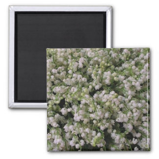 LilyOfTheValley Square Refrigerator Magnets
