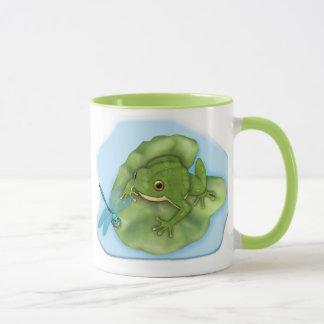 Lilypad Frog Mug