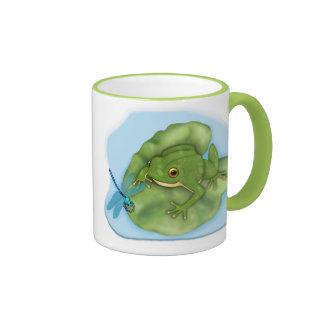 Lilypad Frog Mugs