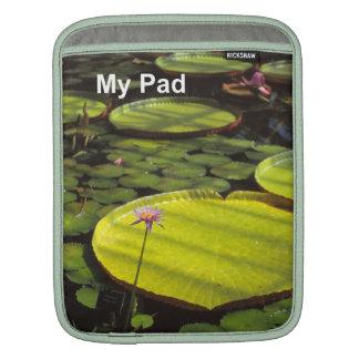 Lilypad iPad sleeve
