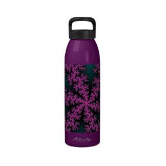 Lilypad Lotus Splatter Bottle Drinking Bottle
