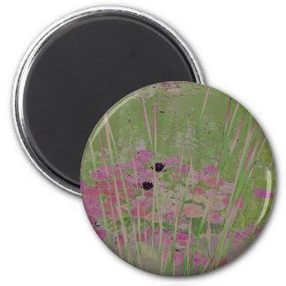 Lilypad Pond Art Magnet