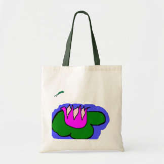 LilyPad Tote Canvas Bags