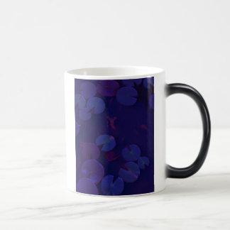 lilypads at dusk coffee mugs
